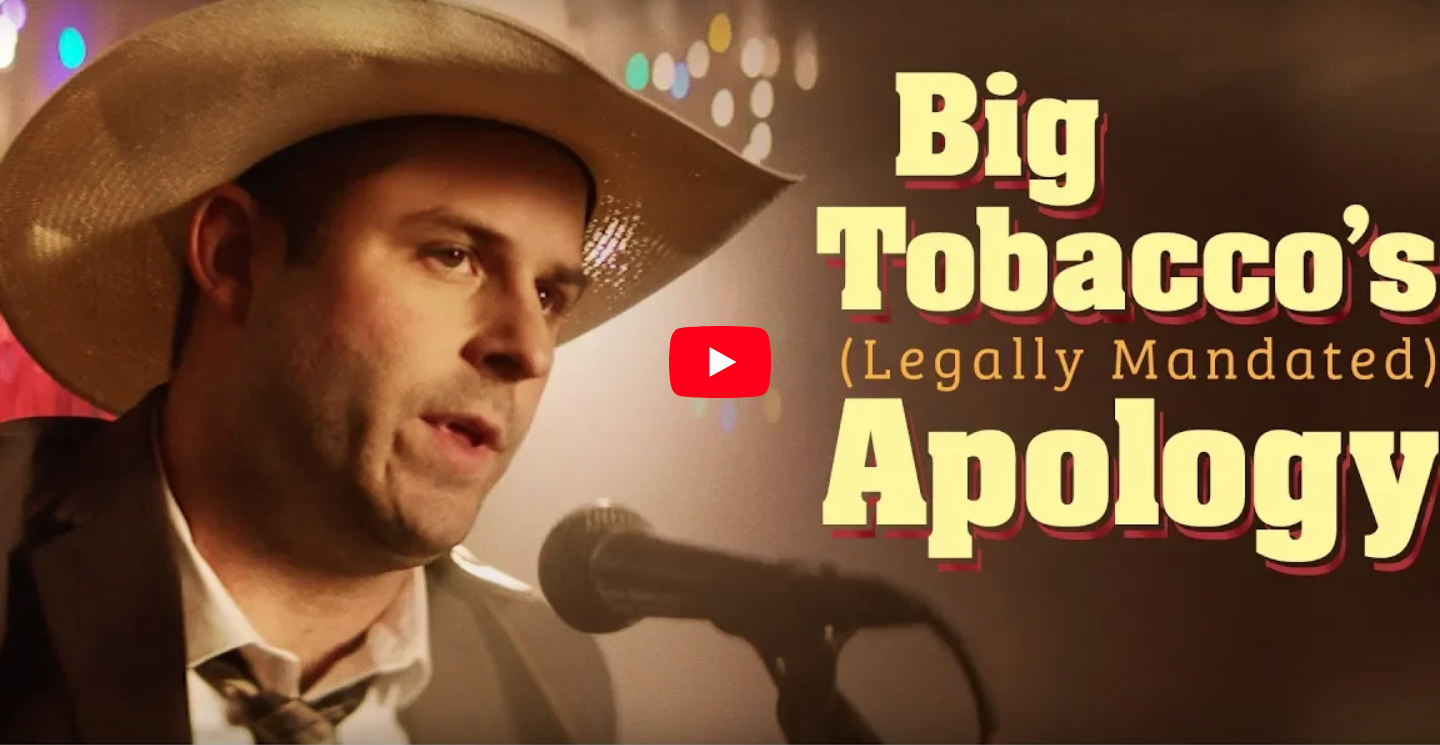 Big Tobacco's Saying Sorry (Directed by Jeff Venable)